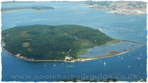 Brownsea Island Aerial Photo