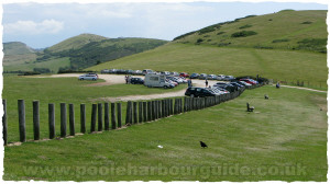 Car Park at Durdle Door Caravan Park