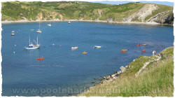 Kayaking Lulworth Cove