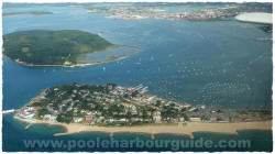 Aerial view of Sandbanks, Sandbanks Poole