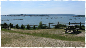 View from Evening Hill, Sandbanks Poole