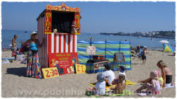 Punch and Judy Show, Swanage Beach - Poole Harbour Guide