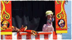 Punch and Judy Show Swanage Dorset